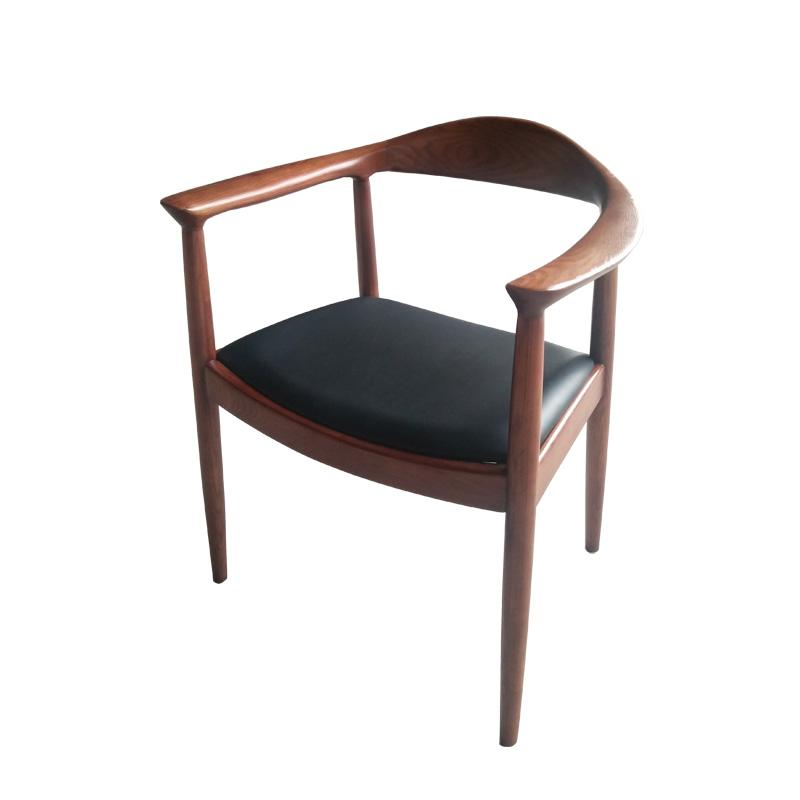 Mid-century design solid wood Kennedy Arm Chair 5