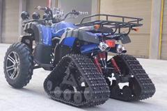 Rubber Track Kit for ATV UTV All Terrain Vehicles rubber track conversion