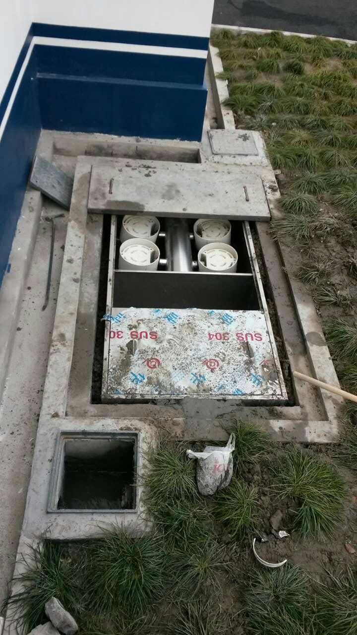 地埋式高效成品隔油池 4
