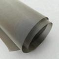 Bright Black 99.95% Pure titanium woven mesh