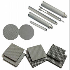 1 3 5 10 20 micron Stainless Steel Sintered wire Mesh Filter Screen