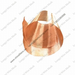 emf rfid emi electromagnetic shielding material faraday cage pure copper mesh