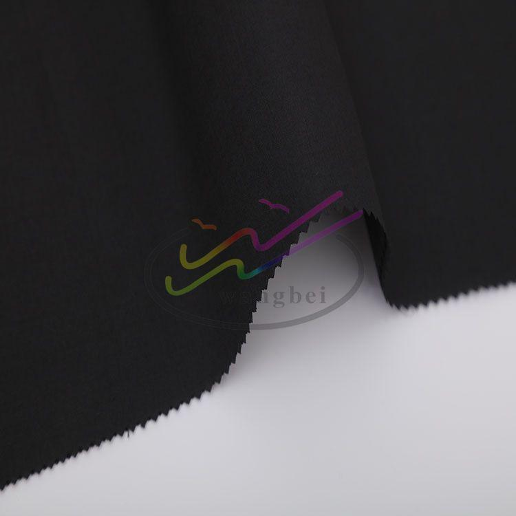 "CVC 60 40 45*45 133*72 58/59"" white fabric 1"