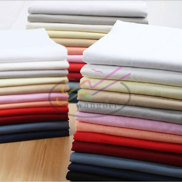 Polyester and cotton school students' shirt fabric 3