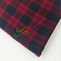100% cotton gingham twill fabric 3