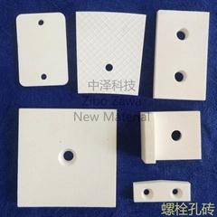 螺栓固定耐磨陶瓷襯板