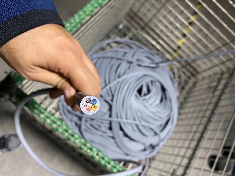 超五類工業以太網線拖鏈電纜 1