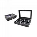Black Leather Watch Box Wholesale Price