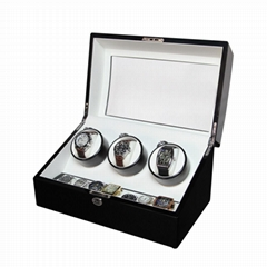 3+7 Automatic Wooden Mechanical Wrist Watch Winder Box  Automatic Watch Winder