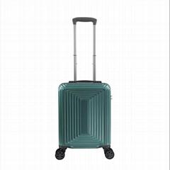 腾耀拉杆箱ABS旅行箱时尚宝石绿万向轮行李箱