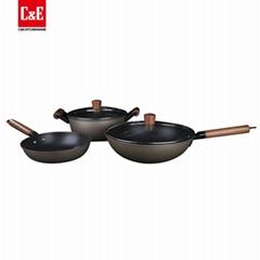 3 Piece Iron Non Stick Cookware Set