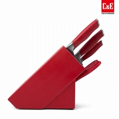 6pcs stainless steel kitchen knife set