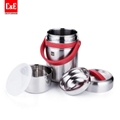 Portable Thermal 2L All Stainless Steel Interior Insulated Food Container 2