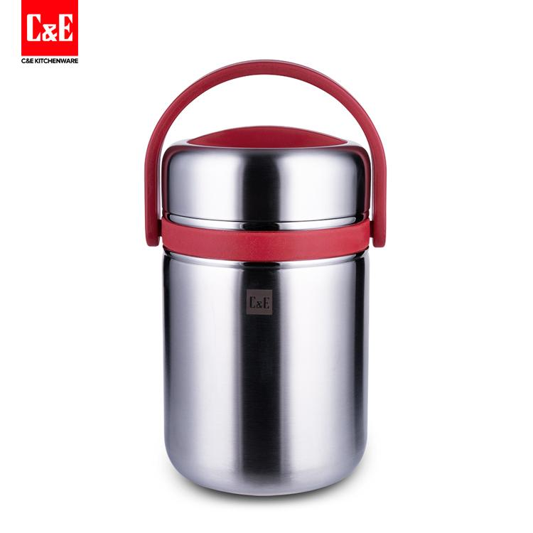 Portable Thermal 2L All Stainless Steel Interior Insulated Food Container 1