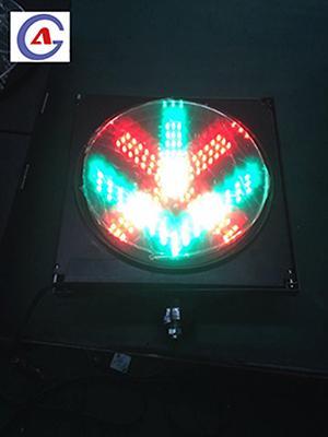300mm Two In One Intelligent Red Cross Green Arrow Traffic Signal Light 1
