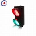 300mm waterproof 12v dc street education intelligent red green led traffic light 2