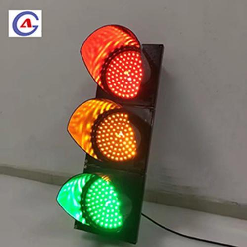 200mm Full Ball Red Yellow Green LED Traffic Signal Lights 1