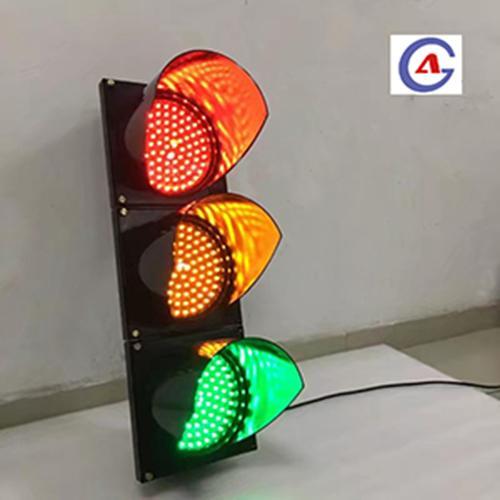 200mm Full Ball Red Yellow Green LED Traffic Signal Lights 2
