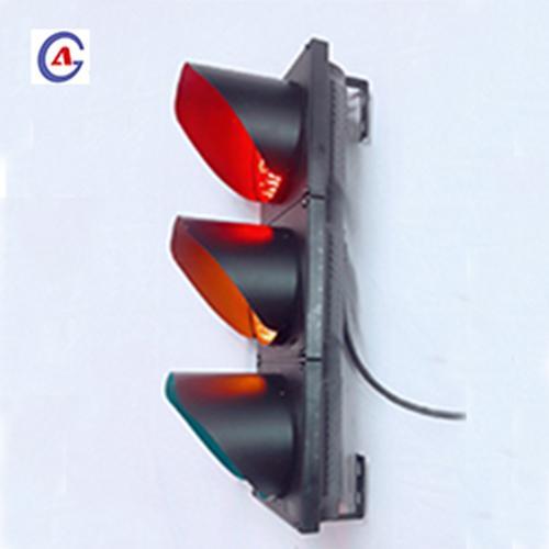 200mm Full Ball Red Yellow Green LED Traffic Signal Lights 3