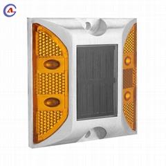 Aluminum IP 68 traffic safety led  solar reflective cat eye  road stud