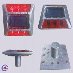 IP68 Aluminum Solar power LED Blinking Road Stud with stem cat eye
