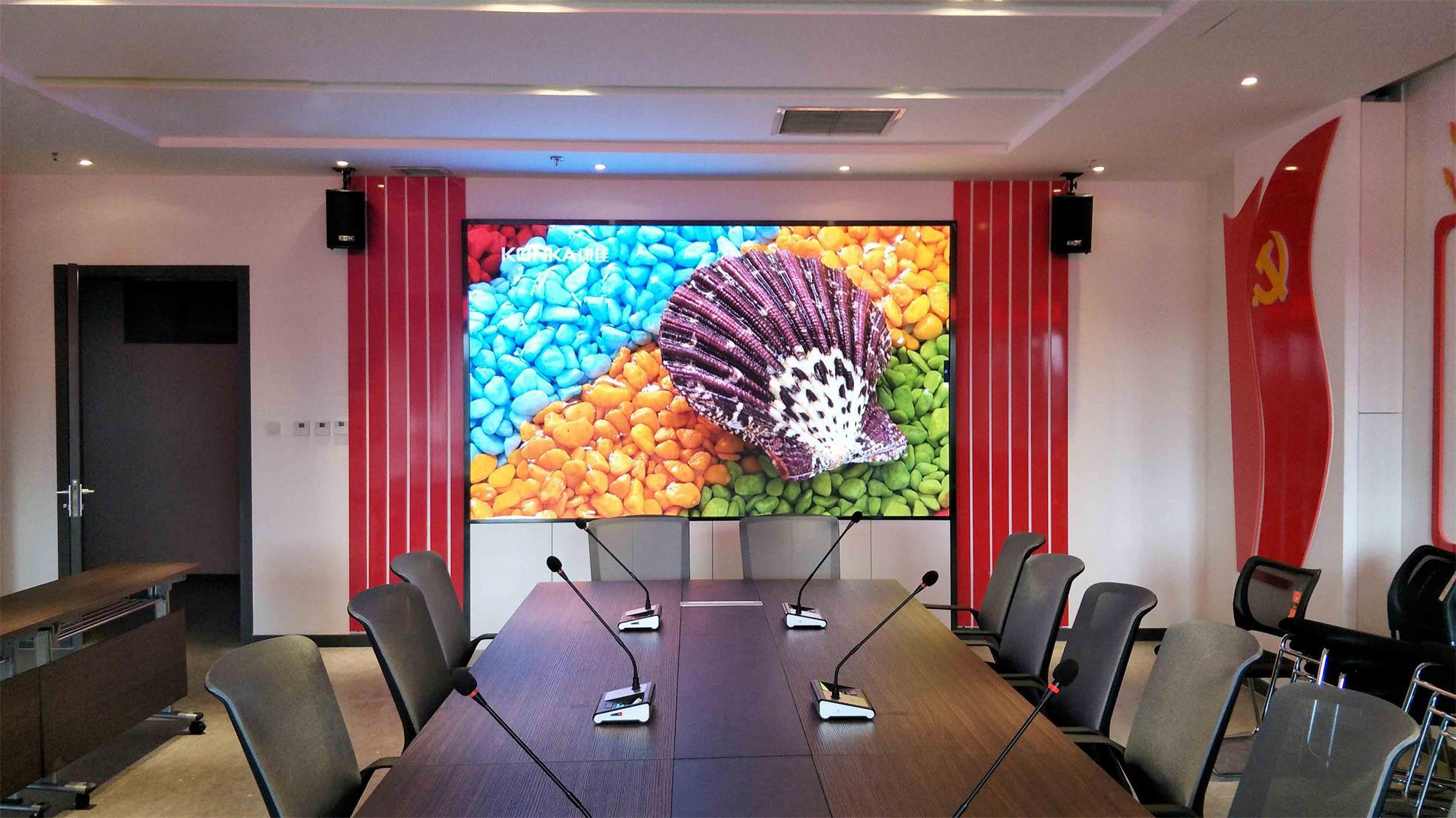 P1.56mm UHD Indoor LED Display Golden Line SMD Technology Lamp LED Video Wall  3