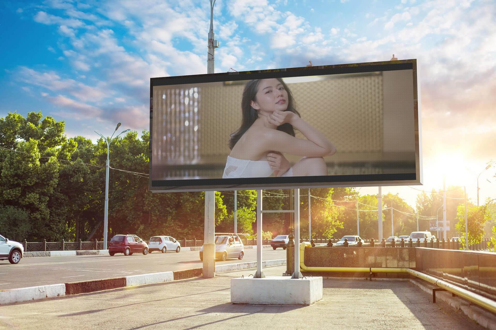 P16mm DIP346 Outdoor LED Display High Brightness Digital Advertising LED Screen 1
