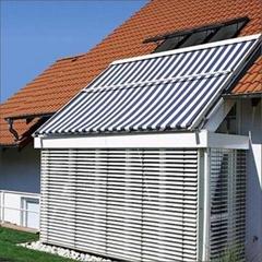 銷售湖南玻璃頂外遮陽天幕遮陽棚電動天幕帘隔熱天幕