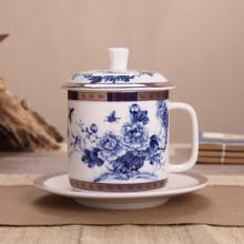 陶瓷茶杯老板杯会议杯定做定制
