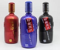 雲南昆明玻璃酒瓶定做定製