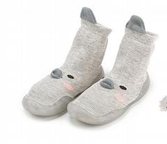 New Baby Floor Shoes Korean Version  Non-slip Soft Bottom Baby Socks S