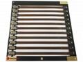 Rigid-flex PCB connector