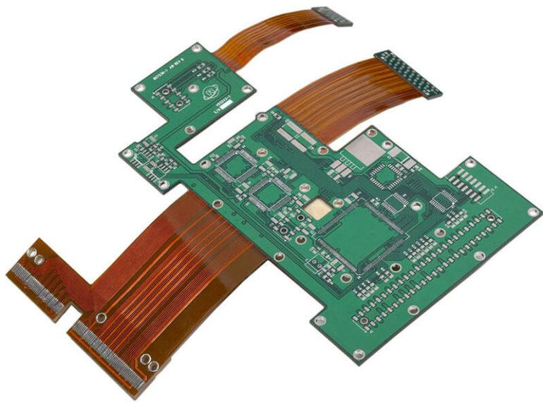 Rigid-flex PCB connector 2