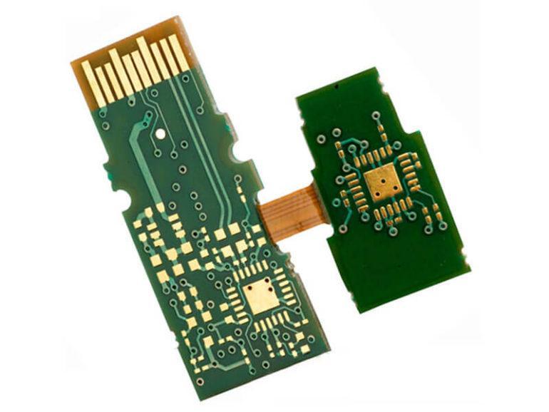 Rigid-flex PCB connector 3