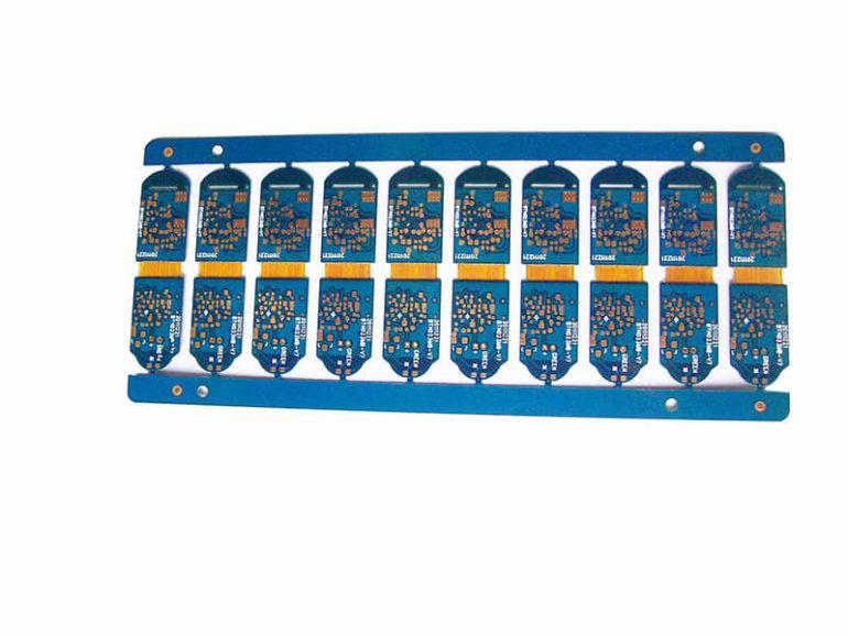 Rigid-flex PCB connector 4