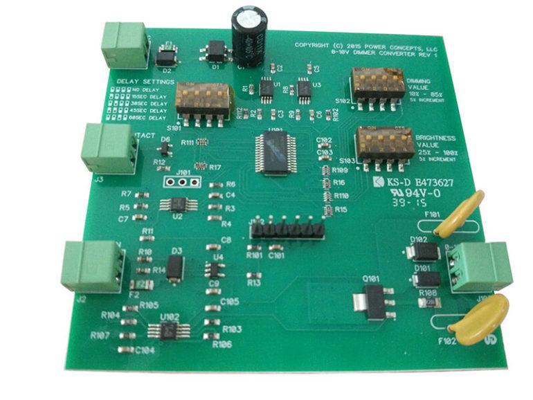 King Sun BLUE PCB Assembly 4