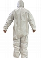 One-piece protective isolation suit surgical gown 2