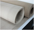 High temperature fiberglass dust filter