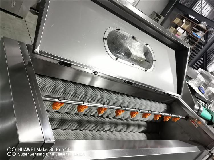 YDPL-600C Friction Root Vegetable Washing Peeling Machine 2