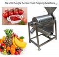 HT-0.5 Fruit  Juice Extracting Machine Mango Pulping Machine 3