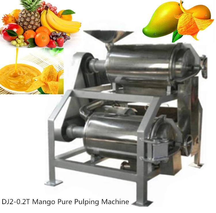 HT-0.5 Fruit  Juice Extracting Machine Mango Pulping Machine 4