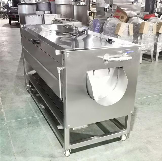 YDPL-600C Friction Root Vegetable Washing Peeling Machine 3