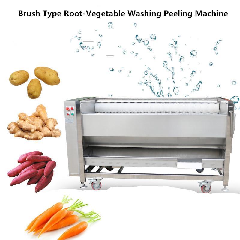 YDPL-600C Friction Root Vegetable Washing Peeling Machine 1