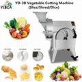 YD-801 Double Inlet Vegetable Cutting