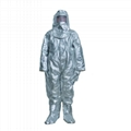 Fold-Resistant Fire Insulation Suit
