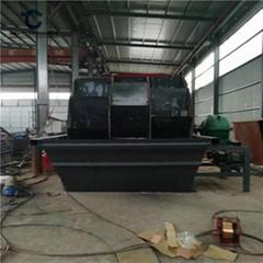 环保沙场轮式洗沙机生产厂家直销