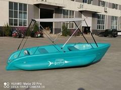 海上充气钓鱼船旗鱼户外休闲充气艇