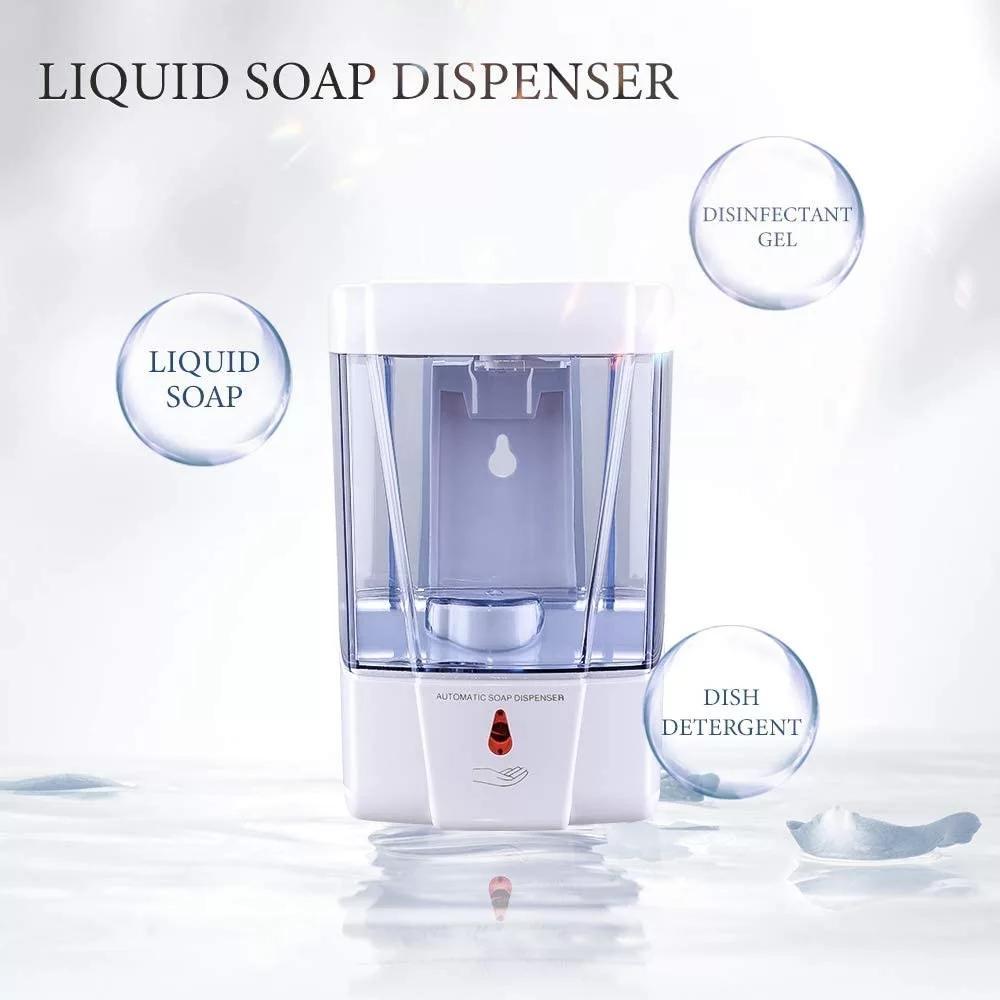 27oz Smart Sensor Touchless Automatic Liquid Spray Dispenser Electroplated Sanit 3