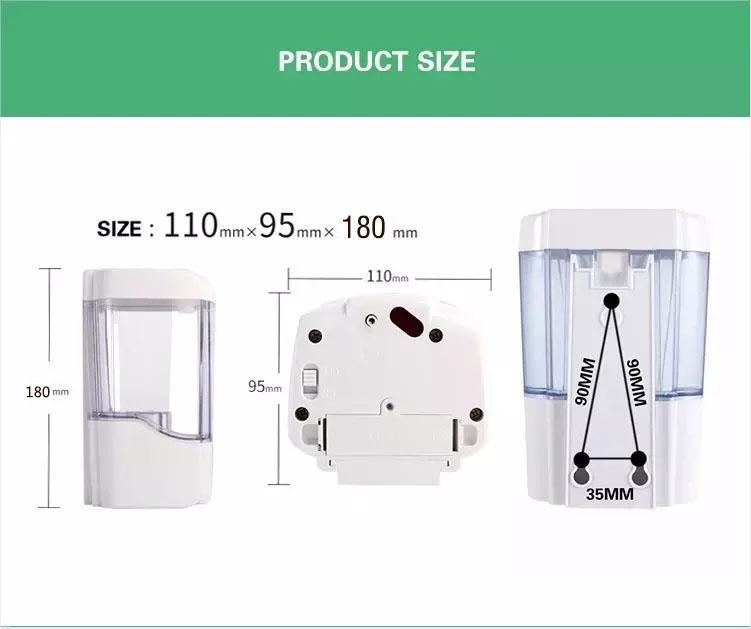27oz Smart Sensor Touchless Automatic Liquid Spray Dispenser Electroplated Sanit 2