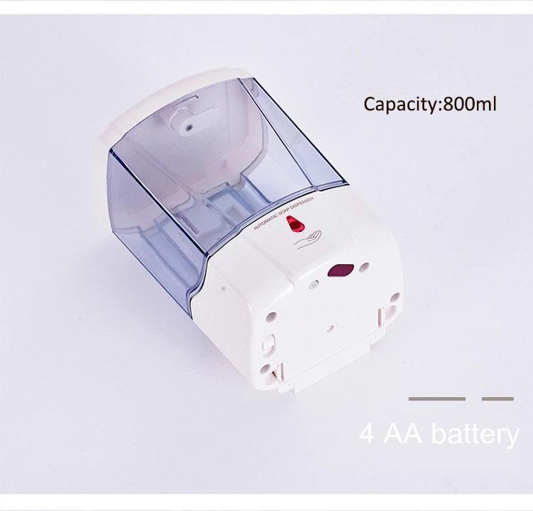 27oz Smart Sensor Touchless Automatic Liquid Spray Dispenser Electroplated Sanit 4